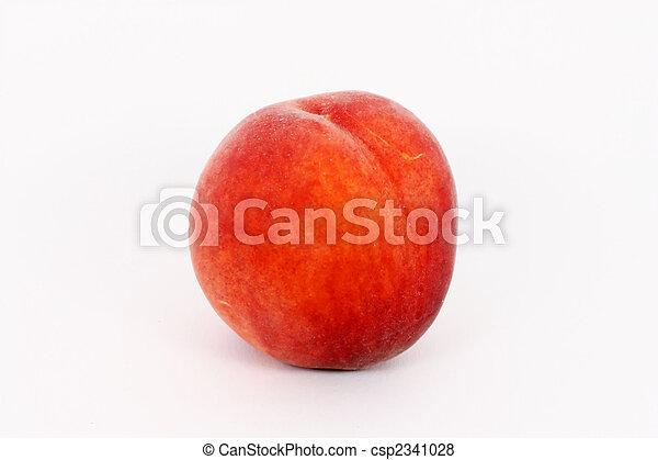 Ripe peach - csp2341028