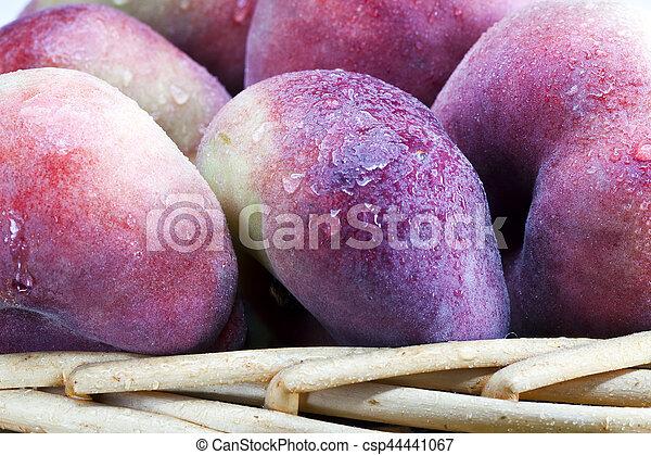 Ripe peach - csp44441067
