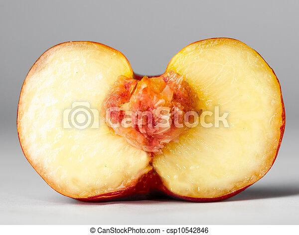 ripe peach - csp10542846