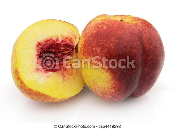Ripe peach - csp4419292