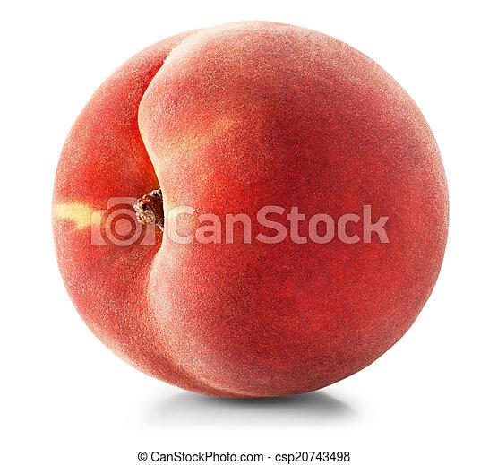 Ripe peach - csp20743498