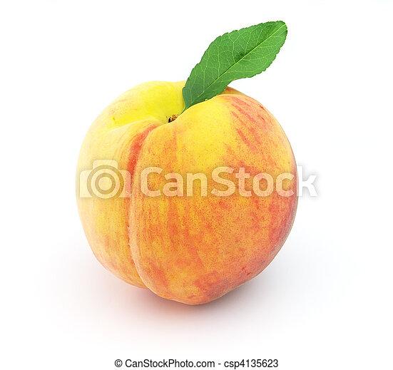 Ripe peach - csp4135623