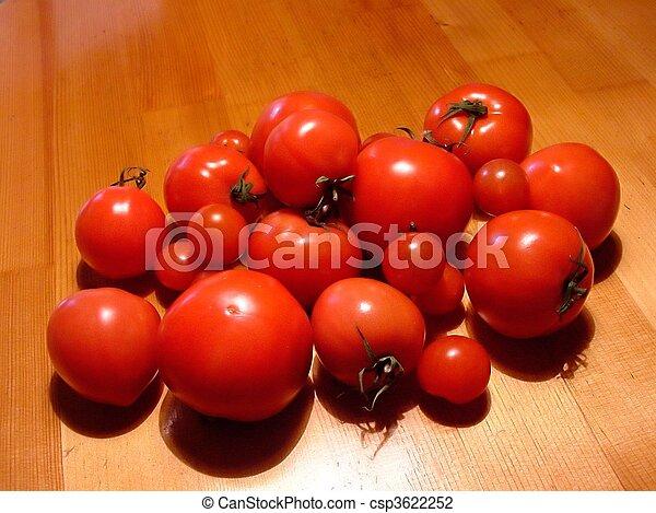 Ripe Tomatoes - csp3622252