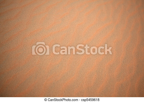 Ripples in the sand. - csp5459618
