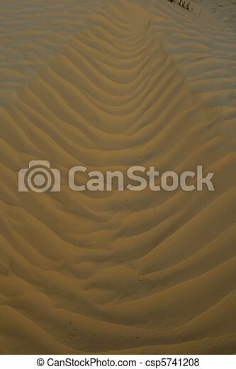 Ripples in the Sand - csp5741208