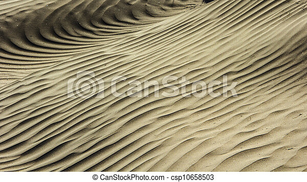 Ripples in the Sand - csp10658503
