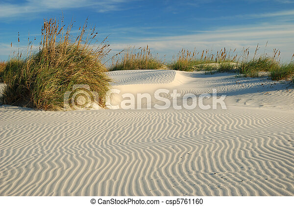 Ripples in the Sand - csp5761160