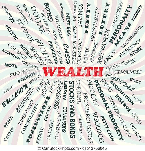 riqueza - csp13756045
