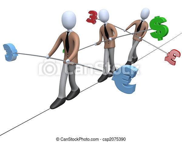 rischio, economia - csp2075390
