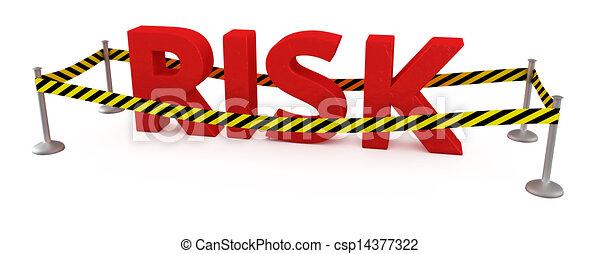 Risikogebiet - csp14377322