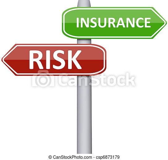 risiko, forsikring - csp6873179