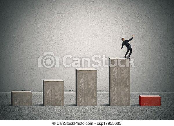 risiko, geschaeftswelt, krise - csp17955685
