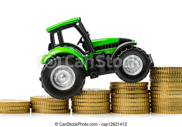 rising costs in agriculture - csp12621412