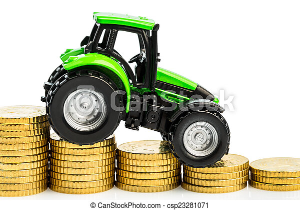 rising costs in agriculture - csp23281071