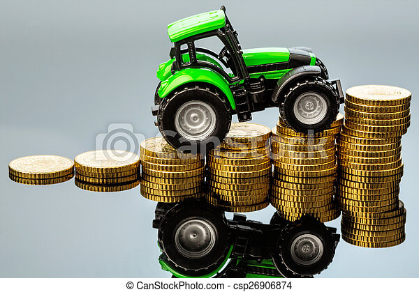 rising costs in agriculture - csp26906874