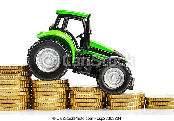 rising costs in agriculture - csp23303284