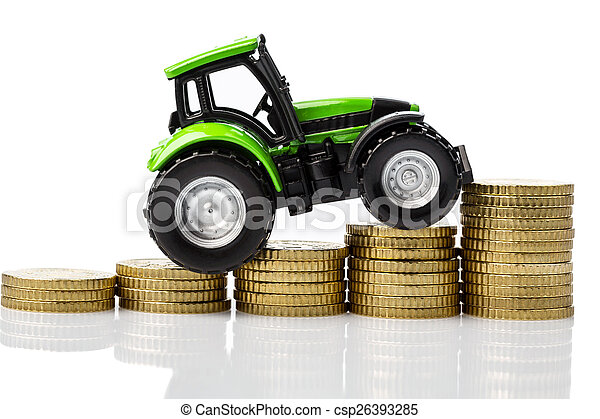rising costs in agriculture - csp26393285