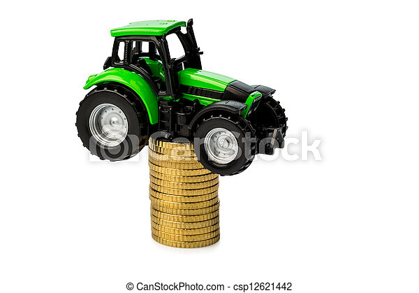 rising costs in agriculture - csp12621442