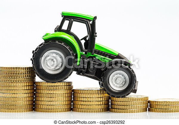 rising costs in agriculture - csp26393292