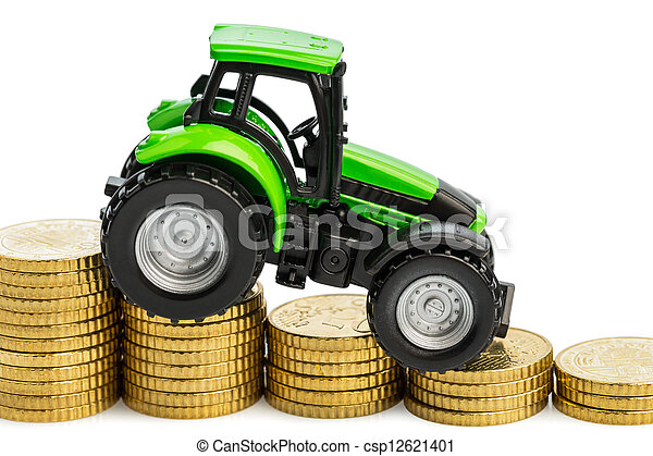 rising costs in agriculture - csp12621401