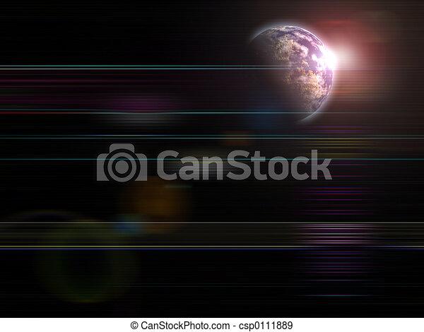 Rising Earth - csp0111889
