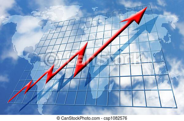 Rising global profits - csp1082576