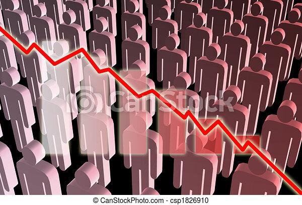 Rising Unemployment - csp1826910