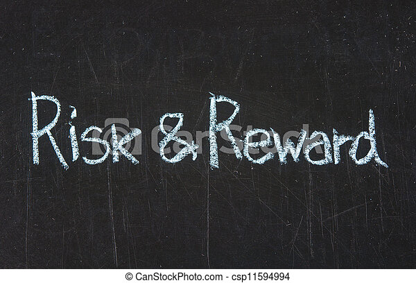 Risk and Reward on blackboard - csp11594994
