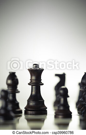 Risk Anticipation Concept, Chess Game - csp39960786