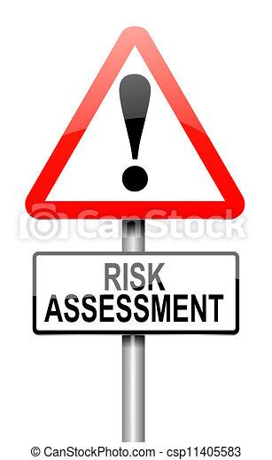 Risk assessment concept. - csp11405583