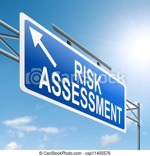 Risk assessment concept. - csp11405576