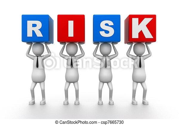 Risk Blocks - csp7665730