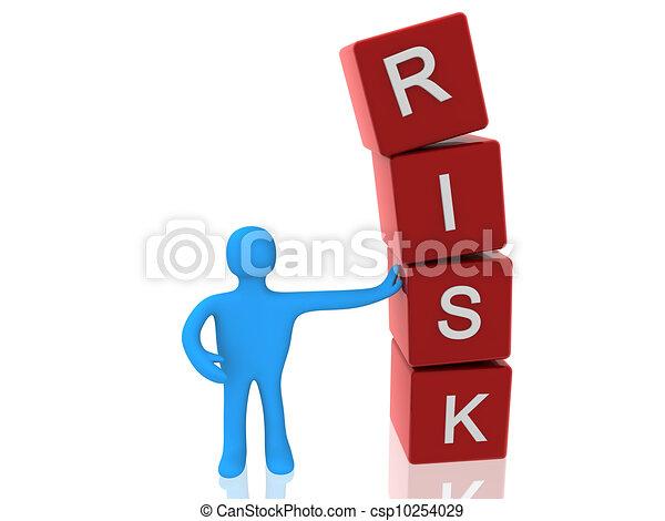 risk concept - csp10254029