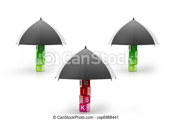 Risk Insurance - csp6988441