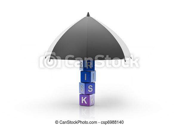 Risk Insurance - csp6988140