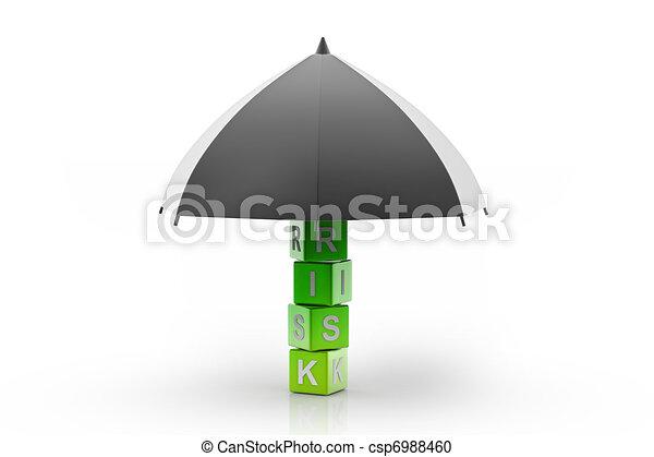 Risk Insurance - csp6988460