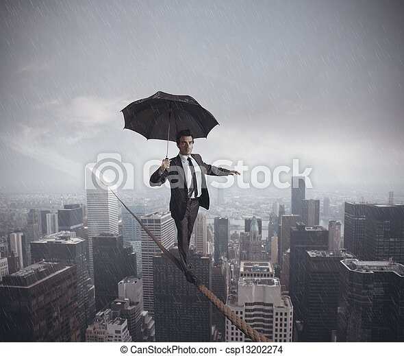 Risks and challenges of business life - csp13202274