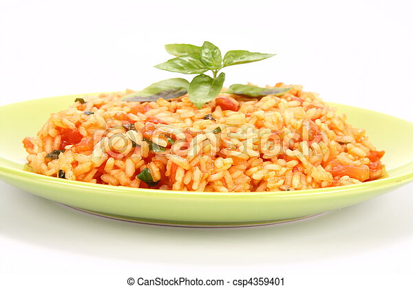 Risotto with tomatoes  - csp4359401