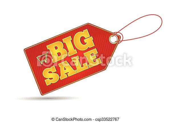 risparmi, etichette, set, vendita - csp33522767