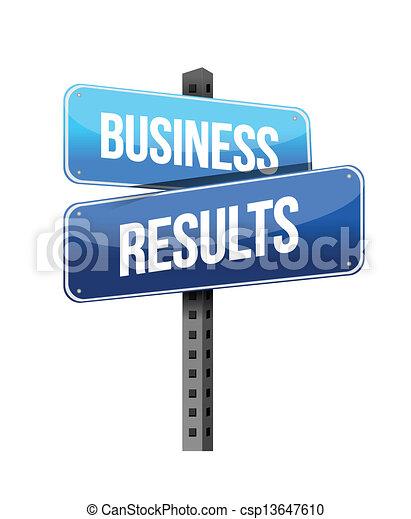 risultati, affari firmano - csp13647610