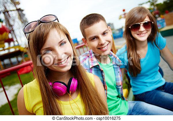 ritratto, adolescente - csp10016275