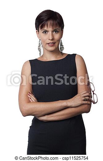 ritratto, donne affari - csp11525754