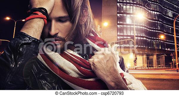 ritratto, giovane - csp6720793