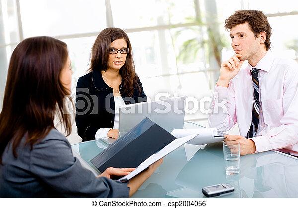 riunione, affari - csp2004056