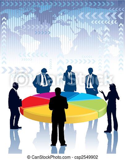 riunione, affari - csp2549902