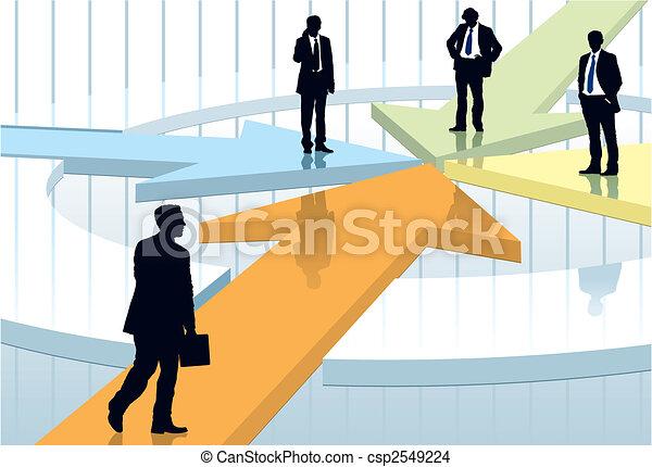 riunione, affari - csp2549224