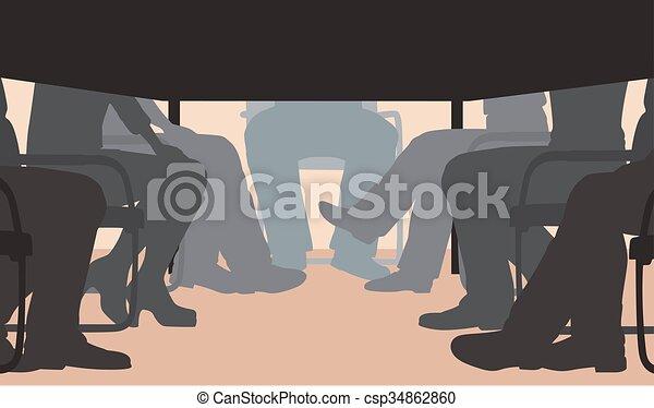 riunione, ufficio - csp34862860