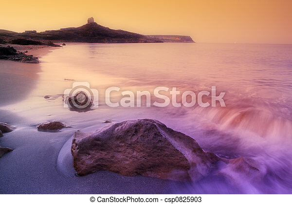 riva rocciosa - csp0825903