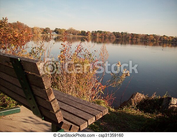 rivage, lac - csp31359160