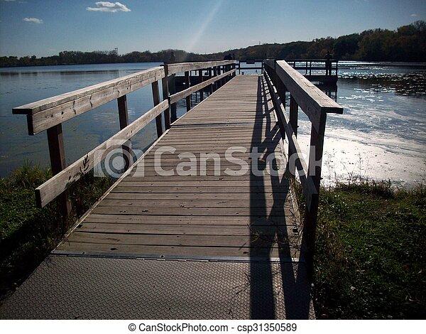 rivage, lac - csp31350589
